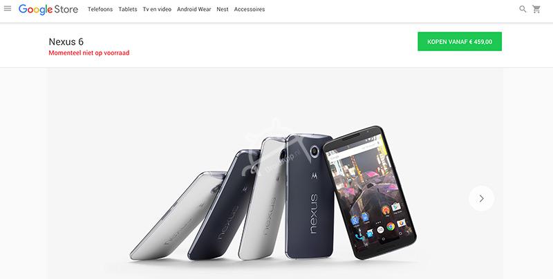 Google Store Nexus 6