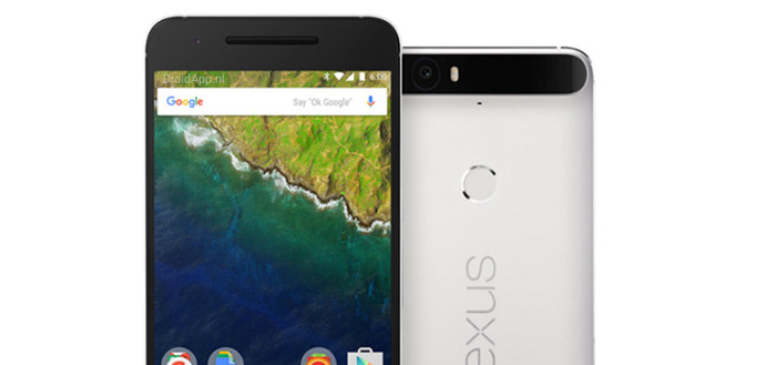 Huawei Nexus 6P te zien in volle glorie
