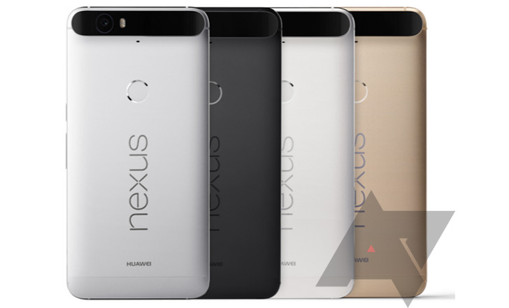 Huawei Nexus 6P kleur