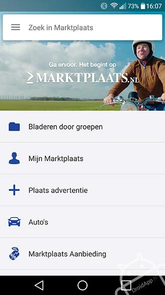 Marktplaats app