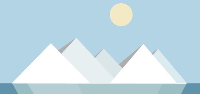 Material Islands: minimalistische eilanden als live wallpaper