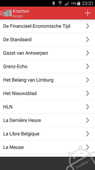 Nederlandse Kranten app