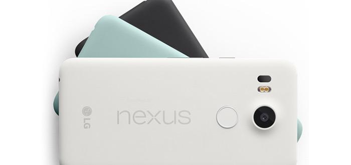 LG Nexus 5X volledig uit de doeken: komt in drie kleuren