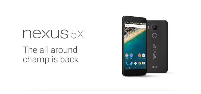 LG Nexus 5X: document met volledige specificaties uitgelekt