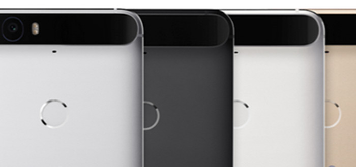 Huawei Nexus 6P komt in vier verschillende kleuren