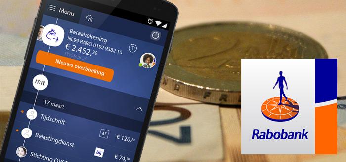 Update Rabobank-app maakt applicatie onbruikbaar