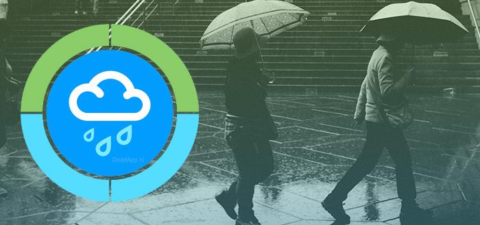 WeatherPro-ontwikkelaars komen met neerslag-app 'RainToday'