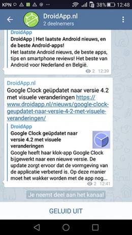 Google Telegram