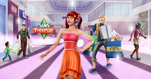 The Sims FreePlay Glitz and Glam