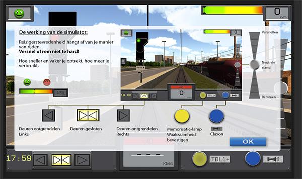 NMBS treinsimulator