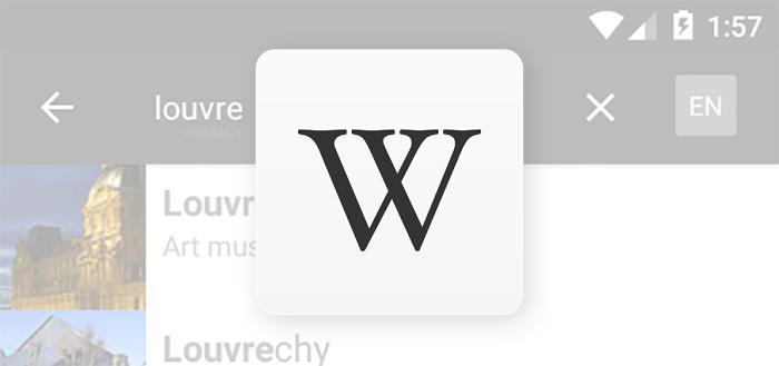 Update voor Wikipedia-app brengt nieuwe functie