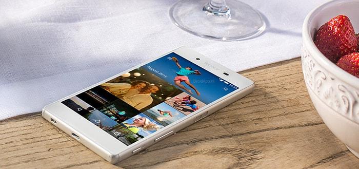 Sony hervat uitrol Android 7.0 Nougat voor Xperia Z5-serie, Z3+ en Z4 Tablet