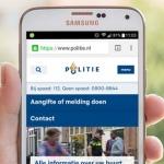 Politie krijgt Samsung Galaxy S5 voor uitschrijven bekeuringen