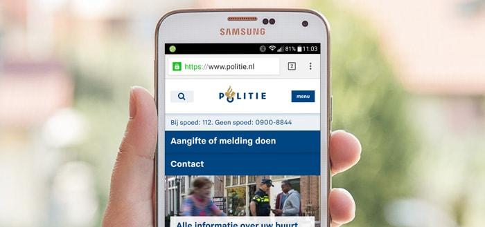 Politie Zeeland-West-Brabant nu ook bereikbaar via WhatsApp