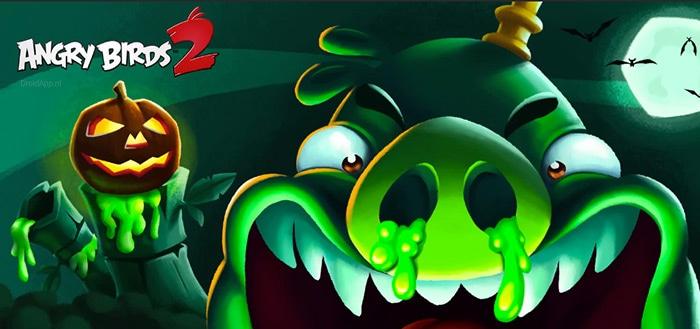 Angry Birds 2 krijgt slijmerige Halloween-update
