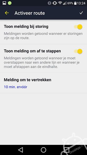De Lijn app