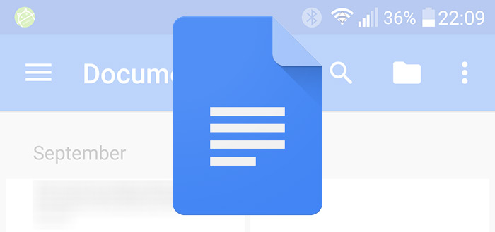 Google plaatst add-ons voor Docs en Spreadsheets in Play Store