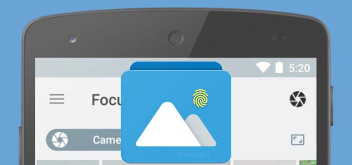 Focus 1.1: galerij-app krijgt grote update met vingerafdruk-beveiliging