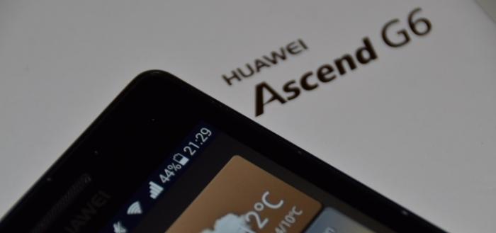 Huawei Ascend G6: Emotion UI 3.0 testers gezocht