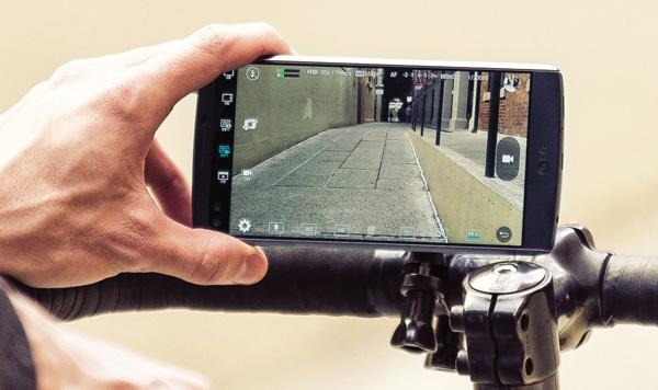 LG V10 videocamera