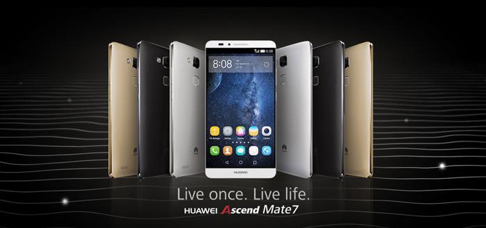 Huawei Ascend Mate 7: Android 5.1.1 Lollipop nu beschikbaar