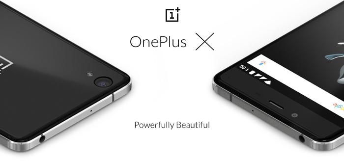 OnePlus X aangekondigd: vanaf 5 november verkrijgbaar voor 269 euro