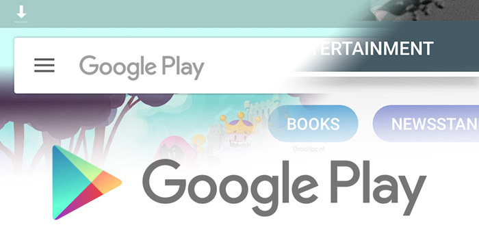 Google Play Store rolt nieuwe navigatiebalk breder uit: nieuwe functies op komst