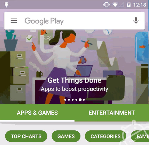 Google Play Store 6.0