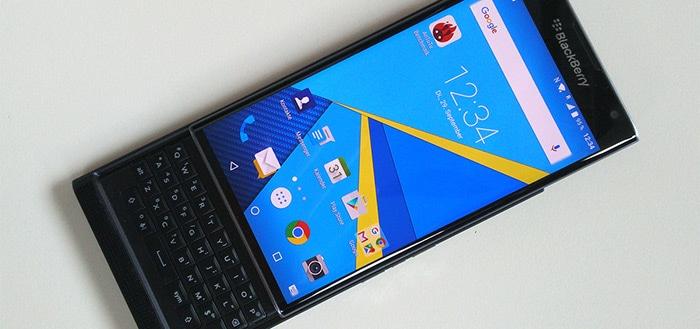 BlackBerry stopt na twee jaar met maandelijkse updates voor Priv
