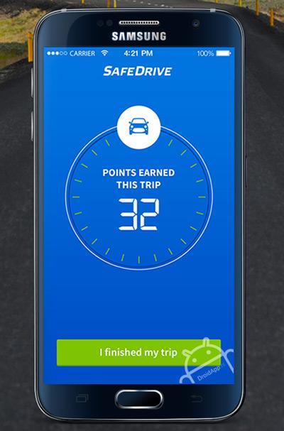 SafeDrive app