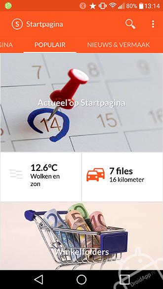 startpagina app