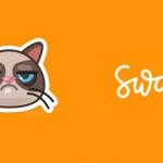 Locatie-app Swarm helpt zwerfkatten met 'Grumpy Cat' sticker