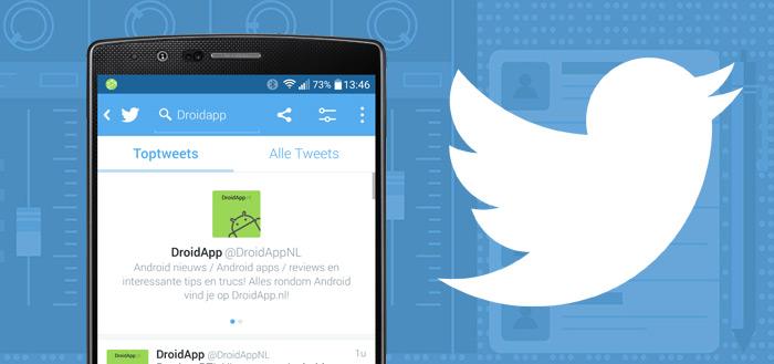 Twitter past tijdlijn-volgorde aan op basis van interesses; zo deactiveer je het