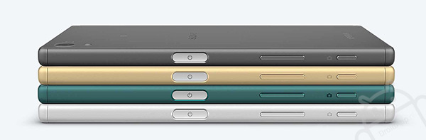Sony Xperia Z5 zijkant