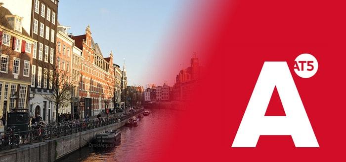 Amsterdamse AT5 app vernieuwd met nieuw ontwerp