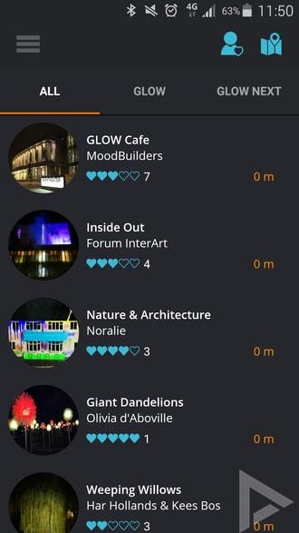 Glow 2015 app
