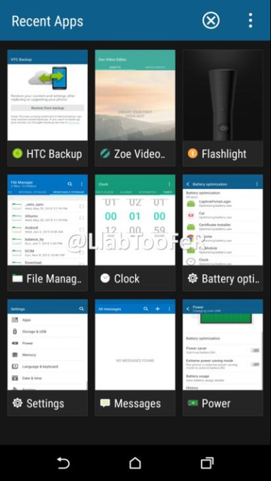 HTC One M9 Marshmallow