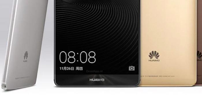Huawei Mate 9: aluminium smartphone uitgelekt in foto's