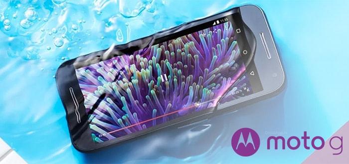 Motorola Moto G cashback-actie: tijdelijk 30 euro retour op 3e generatie