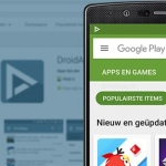 Google Play Store rolt grote zoekresultaten uit met scrollable screenshots en video
