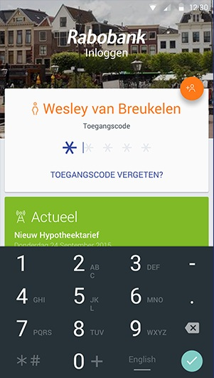 Rabobank in Material Design