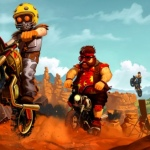 Trails Frontier: crossen en stunten op motoren