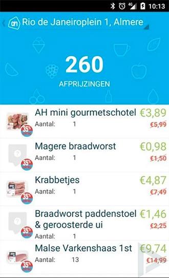 AH Foodsie app