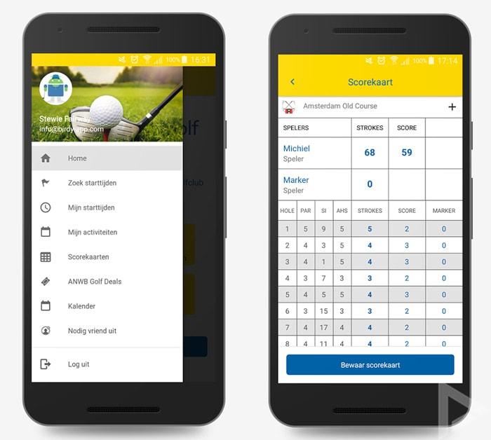 ANWB Golf app