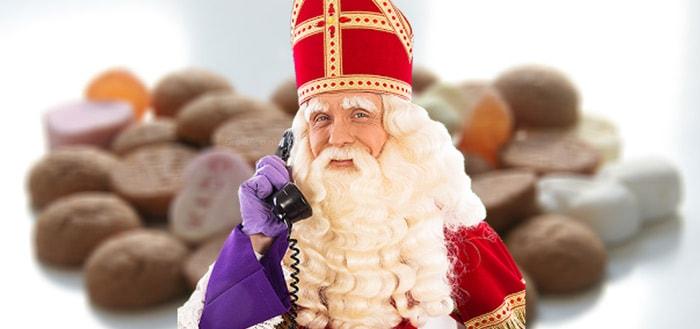 Laat je kinderen bellen met Sinterklaas via leuke app