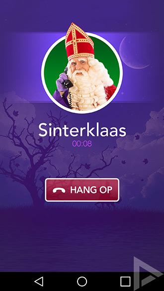 Bellen met Sinterklaas app
