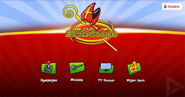 Club van Sinterklaas app