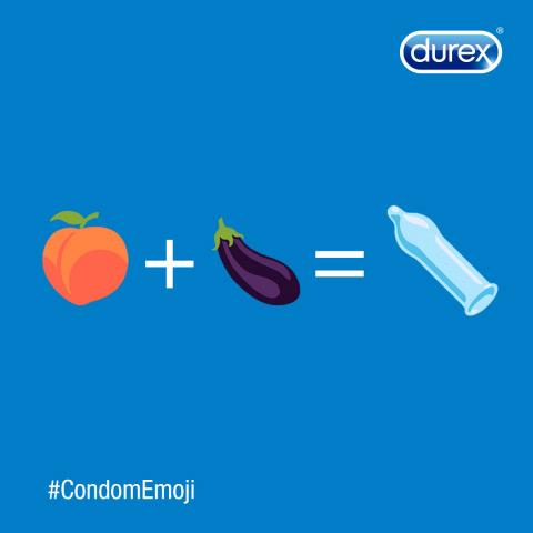 Durex condoom emoji