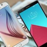 Smartphones: LG en Samsung dalen het snelst in prijs