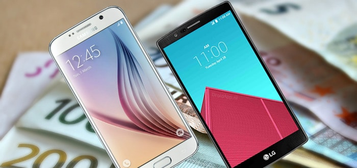 Smartphones werden vorig jaar 12 procent goedkoper; ook abonnementen voordeliger